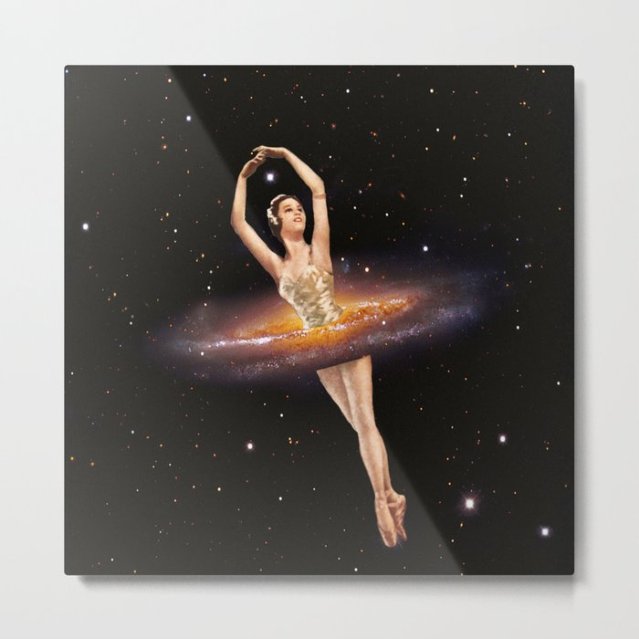 Cosmic Ballerina, Part 1 Metal Print