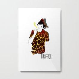 Giraffage Metal Print