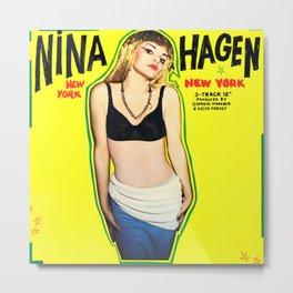 New York Nina Metal Print