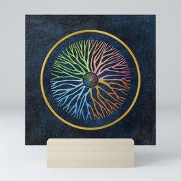 Life Tree Mandala Mini Art Print