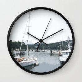 NorthEast Harbor, ME Wall Clock