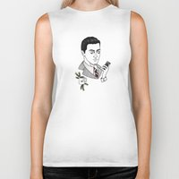 dale cooper Biker Tanks featuring dale cooper II by Bunny Miele