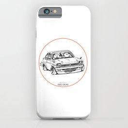 Crazy Car Art 0189 iPhone Case