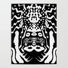 painting  remix art brut Poster