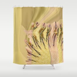 Intropression Makeup Flowers  ID:16165-134558-56051 Shower Curtain