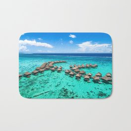 Tahiti paradise honeymoon vacation destination Bath Mat
