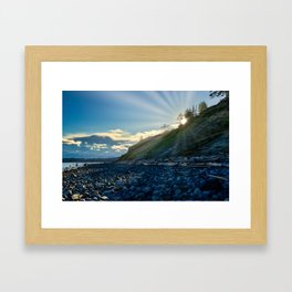 Cape Mudge Framed Art Print