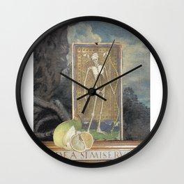 Calling Card Wall Clock