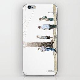 tree plus people iPhone Skin