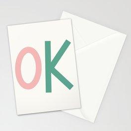 OK Stationery Cards