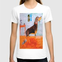 dachshund T-shirts featuring Dachshund by Caballos of Colour