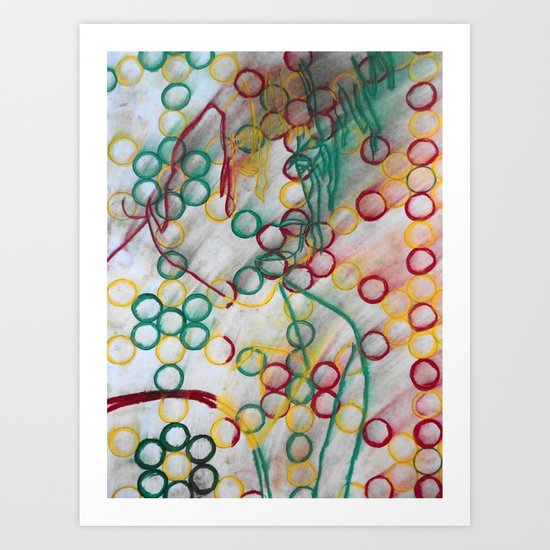 Positive Vibrations Ver.2 Art Print