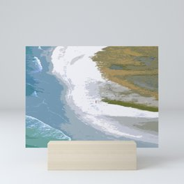 Beach Abstract Mini Art Print
