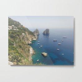 Capri, Italy Metal Print