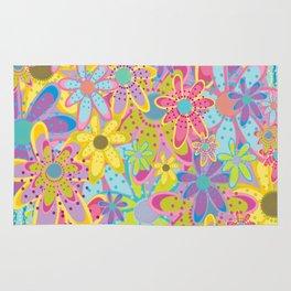 Flowers Print Rug