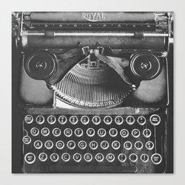 Vintage Typewriter - Before Email Canvas Print