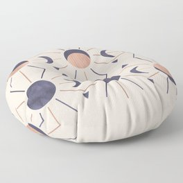 Moon and Light Rosè Version Floor Pillow