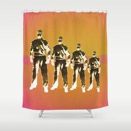 - man machine - Shower Curtain