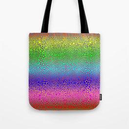 Wild Thing Rainbow Leopard Print Tote Bag