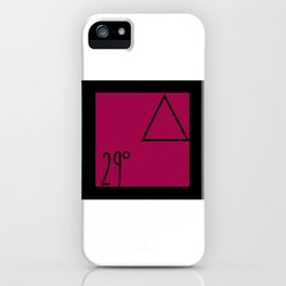29 degrees iPhone Case