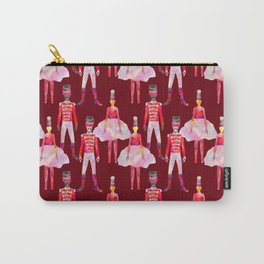 Nutcracker Ballet - Berry Red Carry-All Pouch