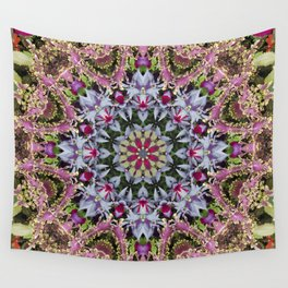 Summer leaves kaleidoscope Olbrich Botanical Gardens Wall Tapestry