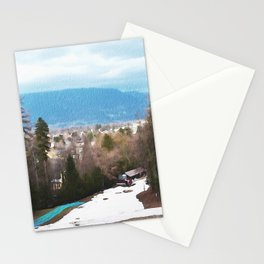 Mountain in Bled, Slovenia Stationery Cards