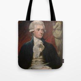 Thomas Jefferson Painting Tote Bag