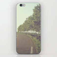 roadside trees iPhone & iPod Skin