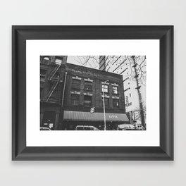 Art Deco Architecture in Portland, Oregon Framed Art Print
