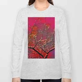 Branch on a background of the sky Long Sleeve T-shirt