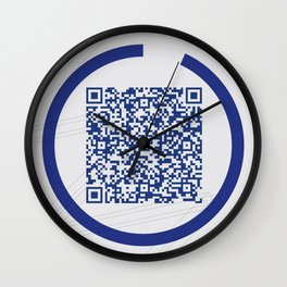 W Galleries Poster Wall Clock