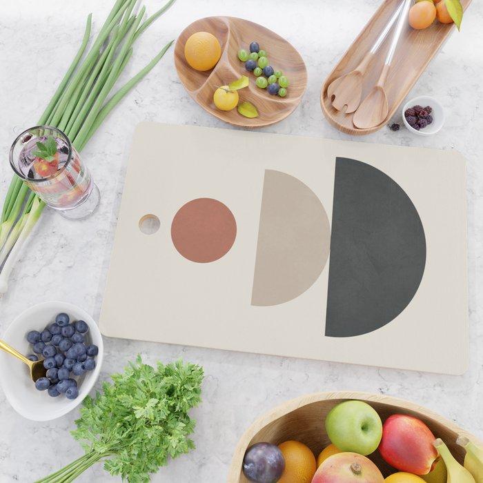 Geometric Modern Art 30 Cutting Board