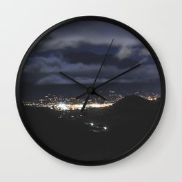 Horizon Lights Wall Clock