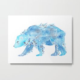 The Great Bear Constellation Metal Print