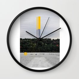 Serapo_New_York_New_Horizons Wall Clock