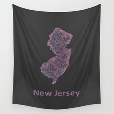 New Jersey Wall Tapestry