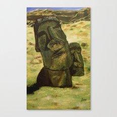 Moai Canvas Print