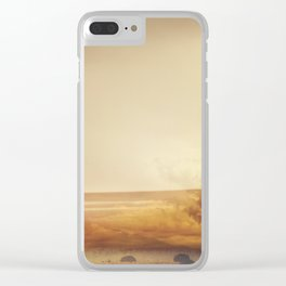 Modern Abstract Photography, Desert Landscape Clear iPhone Case