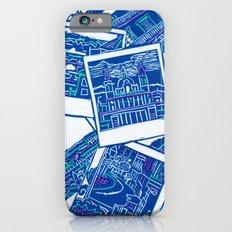 Blue Print  iPhone 6s Slim Case