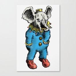 Clown O Phant Canvas Print