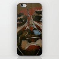 bill murray iPhone & iPod Skins featuring Bill Murray by Jonny Moochie