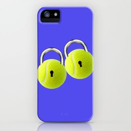 Ball Locks iPhone Case