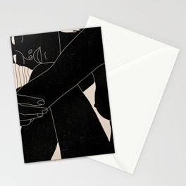 Abstract Art Nude Woman 5 Stationery Cards