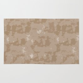 Abstract Beige Quartz Rug