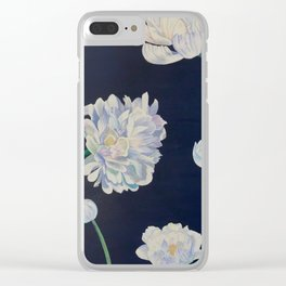 Chrysanthemum Stages Clear iPhone Case