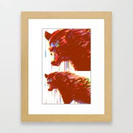 Mr. Grizzle  Framed Art Print