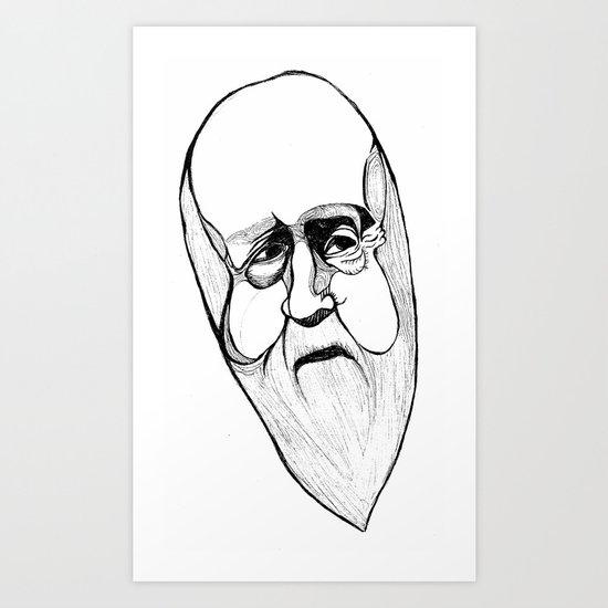 hubert Art Print