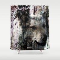 best friend Shower Curtains featuring Best Friend by Artist TLynn Brentnall