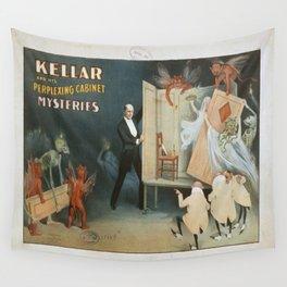 Vintage poster - Kellar the Magician Wall Tapestry